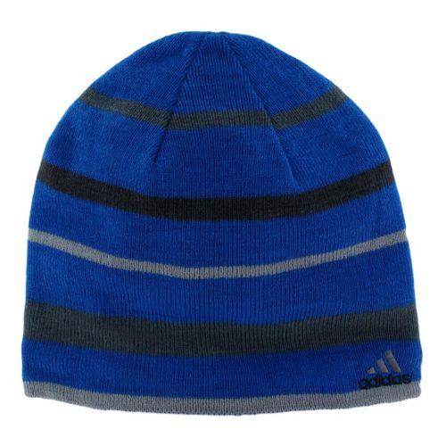 Mens adidas Arktika Reversible Beanie Headwear - Hi Res Blue/Tech Grey