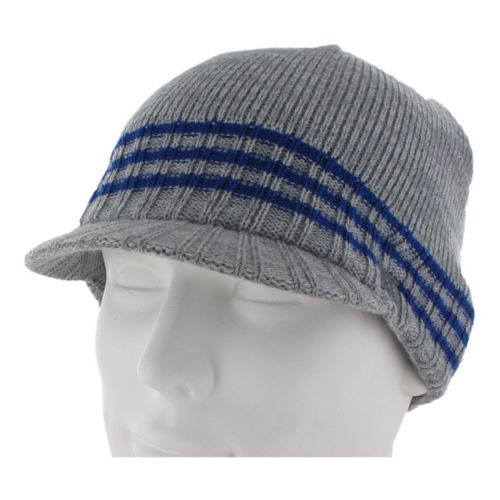 Mens adidas Regent Brimmer Headwear - Tech Grey/Hi Res Blue