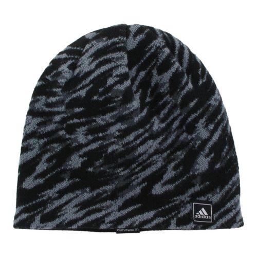 Mens adidas Stinger Beanie Headwear - Black/Tech Grey