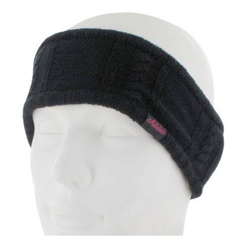 Womens adidas Delilah Headband Headwear - Black/Blast Pink