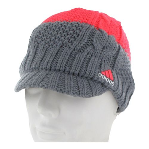 Womens adidas Colorado Brimmer Headwear - Tech Grey/Red Zest