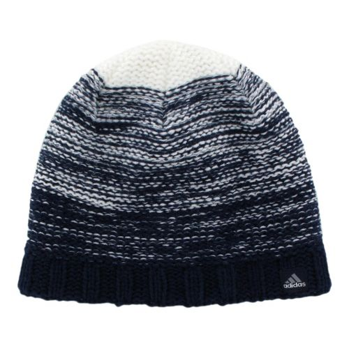 Womens adidas Ride Beanie Headwear - Collegiate Navy/Tech Grey
