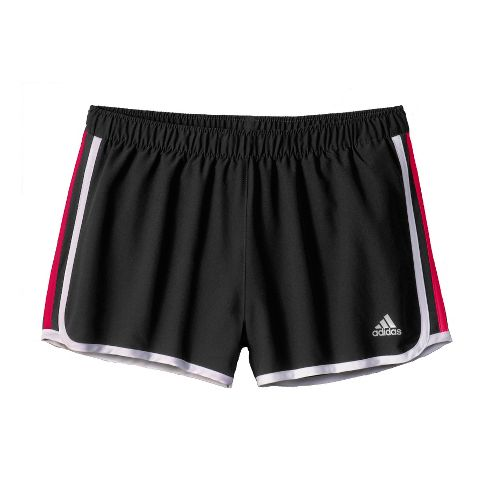 Womens adidas MC M10 Lined Shorts - Black/Dark Pink XL