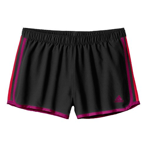 Womens adidas MC M10 Lined Shorts - Black/Purple/Red L