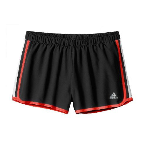Womens adidas MC M10 Lined Shorts - Black/Racer Red XL