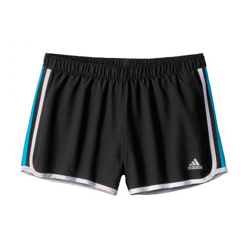 Womens adidas MC M10 Lined Shorts - Black/Teal L