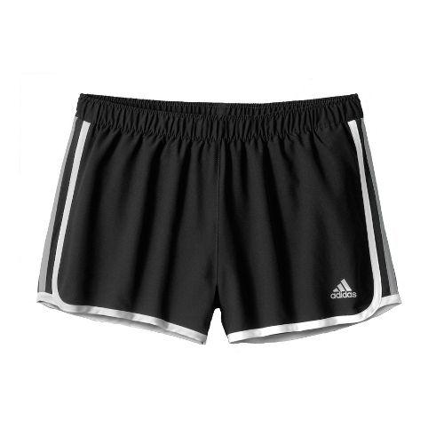 Womens adidas MC M10 Lined Shorts - Black/White/Dark Grey L