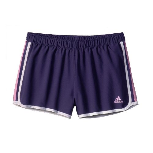 Womens adidas MC M10 Lined Shorts - Majestic/Light Purple L