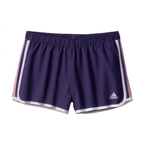 Womens adidas MC M10 Lined Shorts - Majestic/Light Purple S