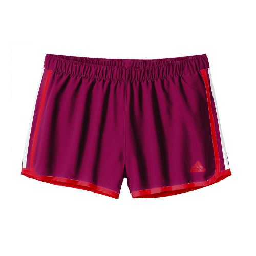 Womens adidas MC M10 Lined Shorts - Purple/Red XL