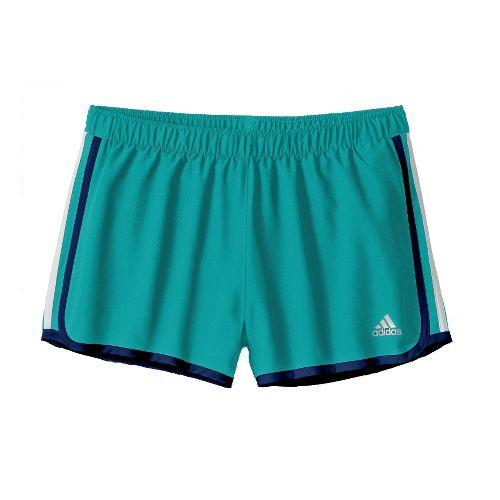 Womens adidas MC M10 Lined Shorts - Sea Green XL