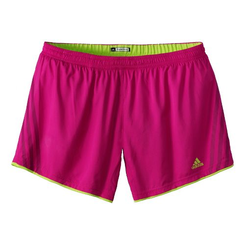 Womens adidas Supernova Sequence Lined Shorts - Bright Pink M