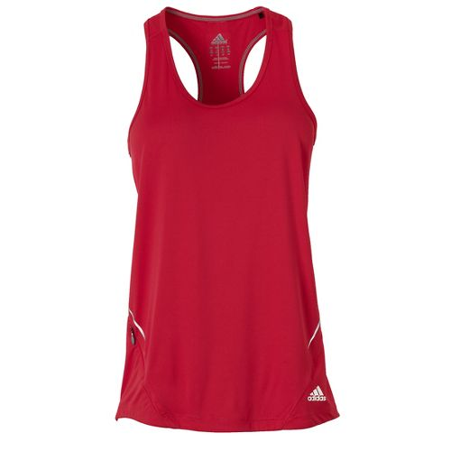 Womens adidas Sequencials Fitted Tank Technical Tops - Bright Pink L