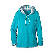 Womens adidas Modern Classics Hooded Sweatshirt Long Sleeve No Zip Technical Tops