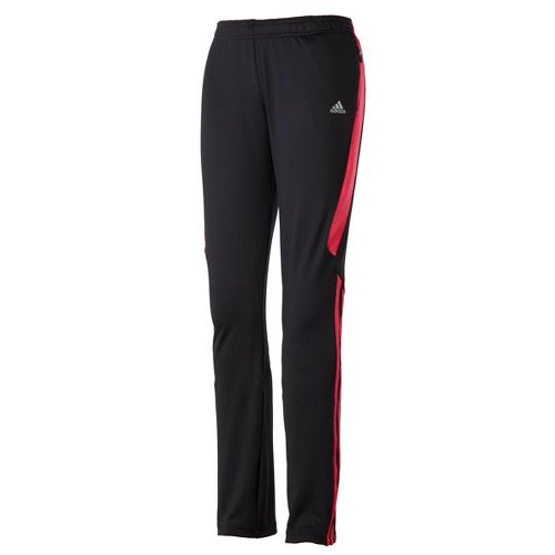 Womens adidas Response Astro Full Length Pants - Black/Bright Pink L