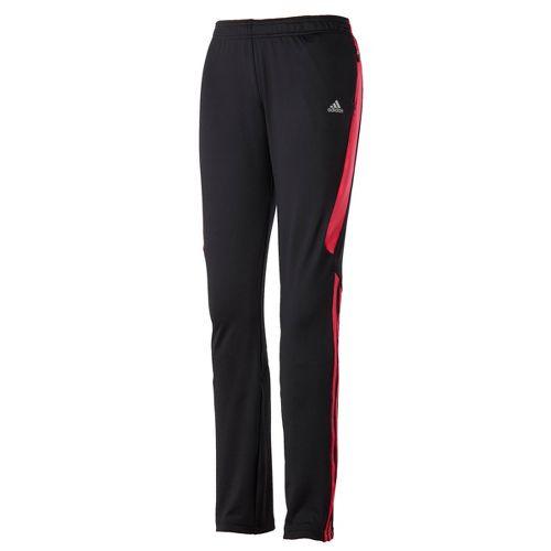 Womens adidas Response Astro Full Length Pants - Black/Bright Pink XL
