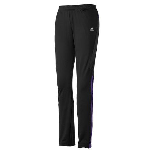 Womens adidas Response Astro Full Length Pants - Black/Violet L