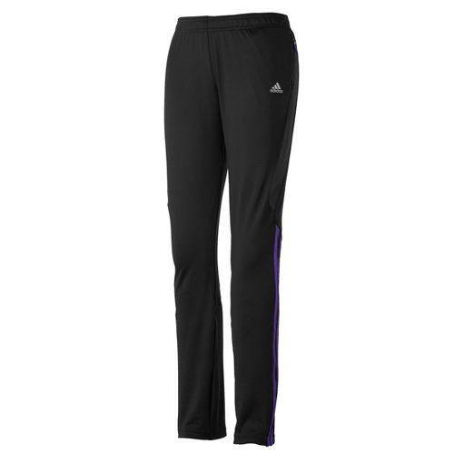 Womens adidas Response Astro Full Length Pants - Black/Violet XL
