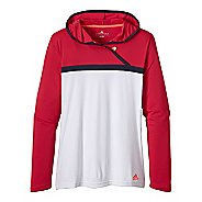 Womens adidas Marathon 10 Grete Hoodie Long Sleeve No Zip Technical Tops