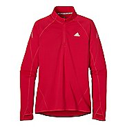 Womens adidas Sequencials Flagstaff Long Sleeve 1/2 Zip Technical Tops