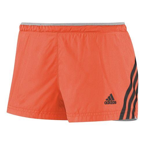 Womens adidas Supernova Glide Lined Shorts - Orange Burst M