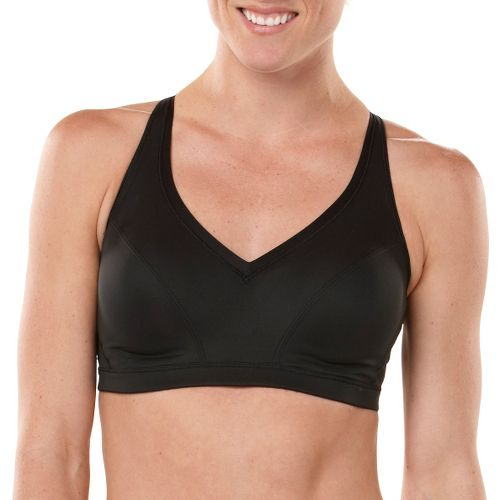 Womens adidas Energy Enhance & Support Sports Bra - Black 36A