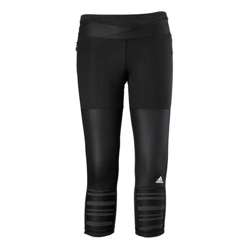 Womens adidas Supernova 3/4 Capri Tights - Black L
