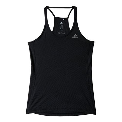 Womens adidas Supernova Mesh Tank Technical Tops - Black S