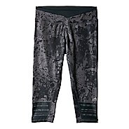 Womens adidas Supernova 3/4 Graphic Capri Tights