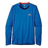 Mens adidas Supernova Long Sleeve No Zip Technical Tops