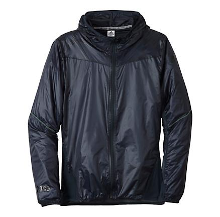 Mens adidas Fast Roadrunner Warm-Up Hooded Jackets