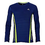 Mens adidas Supernova Long Sleeve Tee No Zip Technical Tops