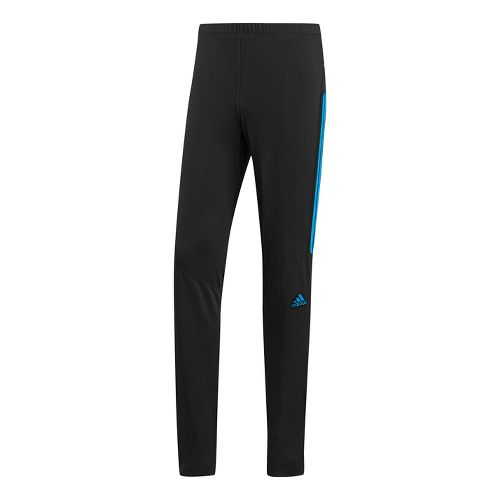 Mens adidas Response Astro Warm-Up Pants - Black/Hyper Blue M