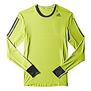 Mens adidas Supernova Tee Long Sleeve No Zip Technical Tops