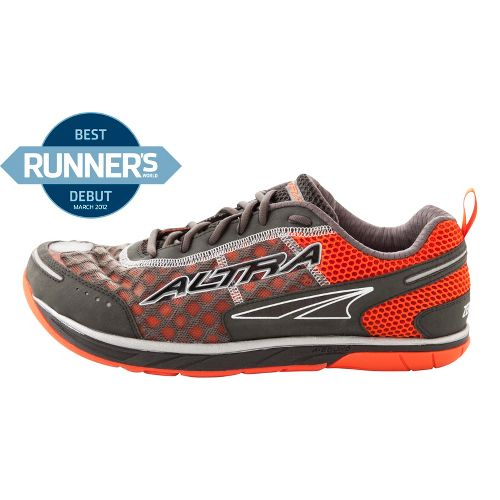 Mens Altra Instinct 1.5 Running Shoe - Charcoal/Orange 9.5