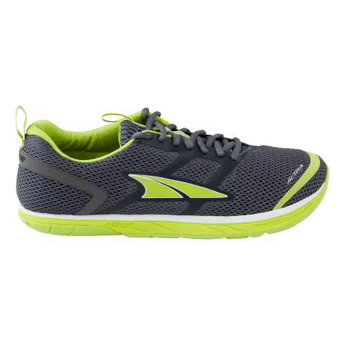 Mens Altra Provision 1.5 Running Shoe - Charcoal/Lime 11.5