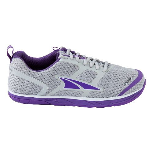 Womens Altra Provisioness 1.5 Running Shoe - Grey/Purple 10