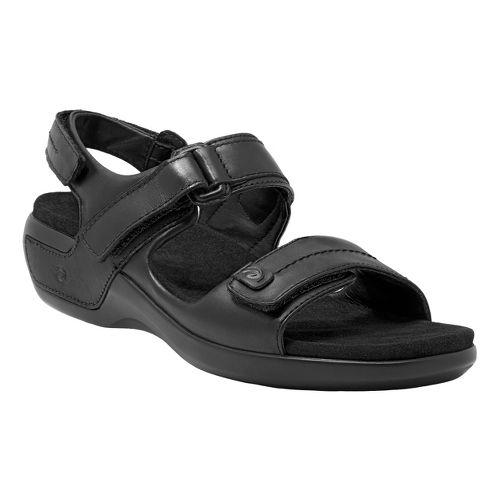 Womens Aravon Katy Casual Shoe - Black 5