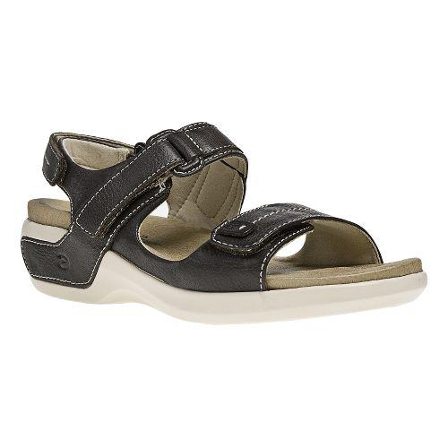 Womens Aravon Katy Casual Shoe - Brown 5