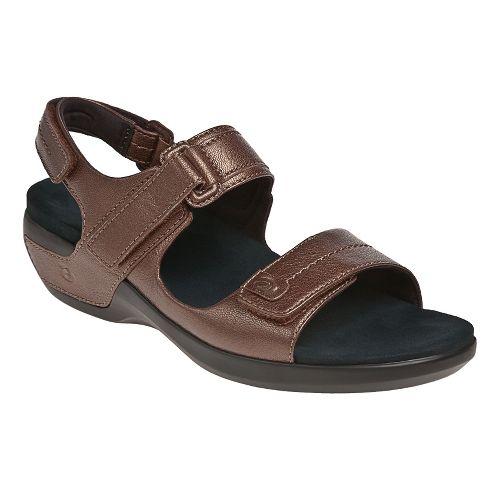 Womens Aravon Katy Casual Shoe - Bronze 10