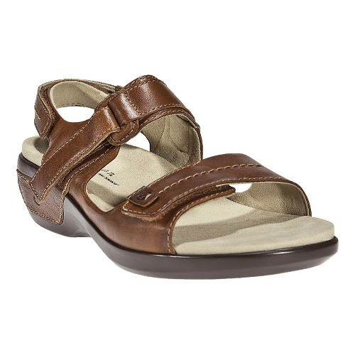 Womens Aravon Katy Casual Shoe - Tan 5