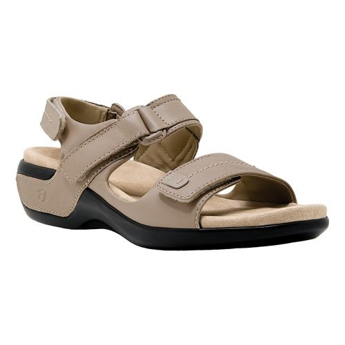 Womens Aravon Katy Casual Shoe - Taupe 7