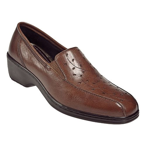 Womens Aravon Kiley Casual Shoe - Brown 5