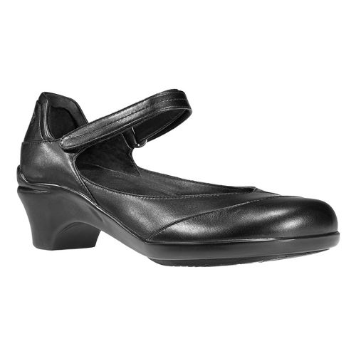 Womens Aravon Maya Casual Shoe - Black 10