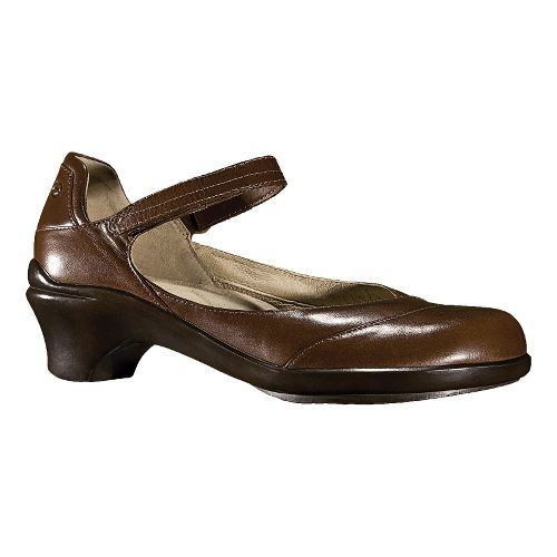 Womens Aravon Maya Casual Shoe - Brown 8