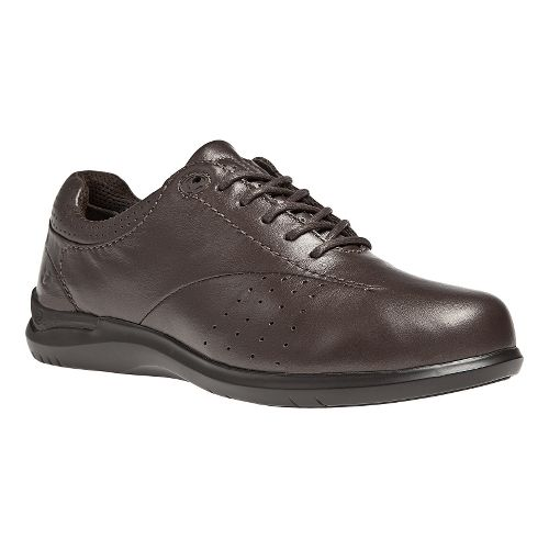 Womens Aravon Farren Casual Shoe - Brown 6