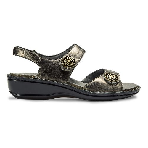 Womens Aravon Candace Sandals Shoe - Pewter 9