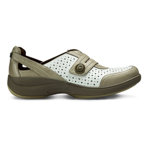 Womens Aravon REVsync Casual Shoe - White Multi 7.5