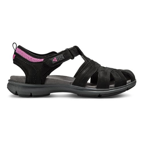 Womens Aravon REVsong Sandals Shoe - Black 10