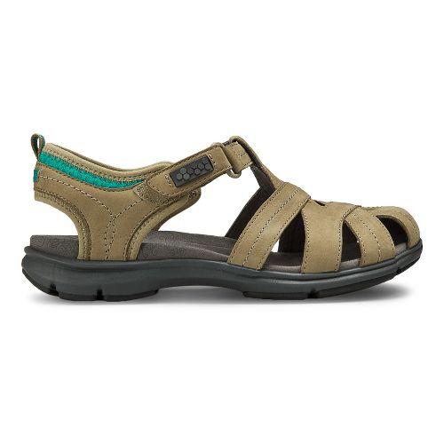 Womens Aravon REVsong Sandals Shoe - Taupe 7